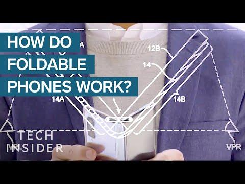 How Foldable Screens Work