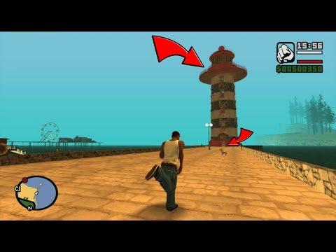 Secret Watchtower Hidden Interior in GTA San Andreas! (Secret Interior)