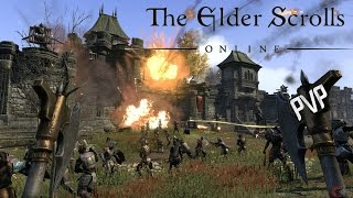 The Elder Scrolls Online PVP Невероятные приключения в Сиродиле! (Nightblade)