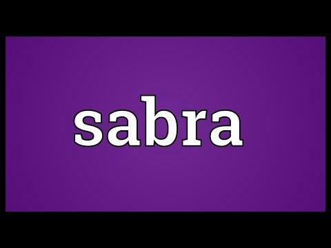 Sabra Meaning