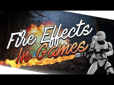 Top 10 Fire Effects In Games! (2018)