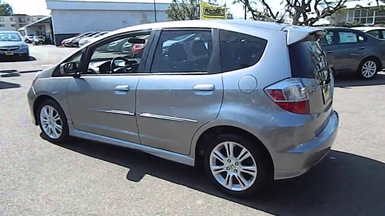 2010 Honda Fit   Sport VSA Hatchback 4D Los Angeles Woodland Hills West  Hills Sherman Oaks   YouTube