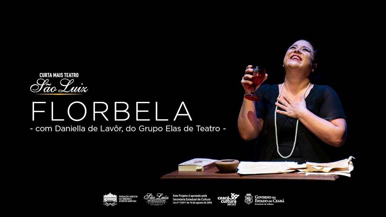 Espetáculo Florbela com Daniella de Lavôr, do Grupo Elas de Teatro [Curta Mais Teatro]