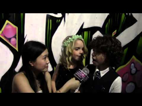 Mckenna Grace & August Maturo Interview (Star for a Night 2014)