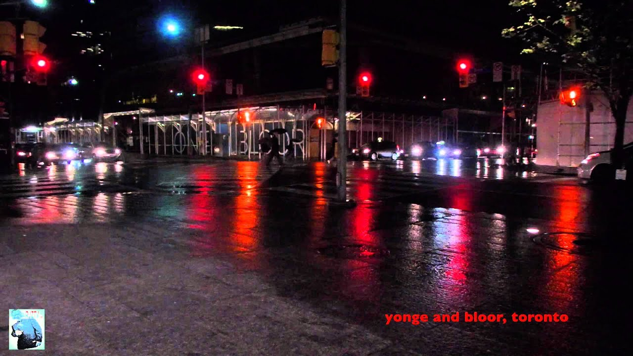 Yonge and Bloor, Toronto Time lapse