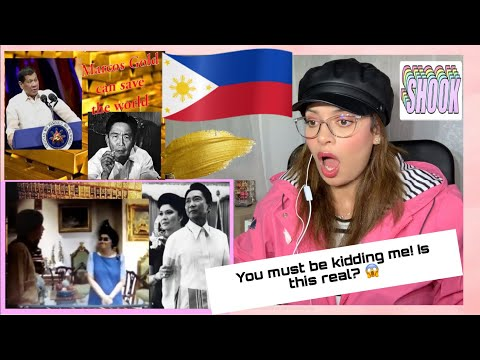 Marcos GOLD| Is the Philippines the RICHEST country in the WORLD?YOU MUST WATCH THIS|REACTION&REVIEW