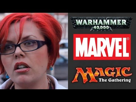 Dear Feminists RE: Comics, Warhammer 40K & Magic The Gathering