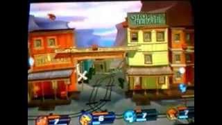 D Rumble arena 2- Guilmon vs Agumon vs V-mon vs Flamemon