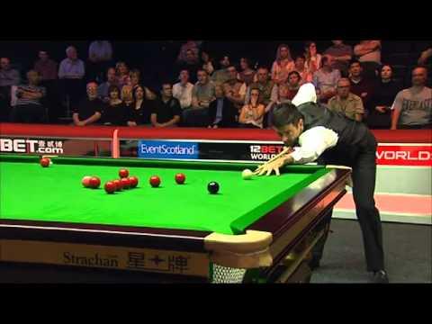 Ronnie O'Sullivan Bizarre 147 Break At World Open 2010 Against Mark King- (HQ)
