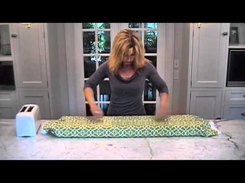 deco wrap diy window treatments how to video youtube. Black Bedroom Furniture Sets. Home Design Ideas