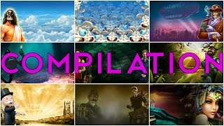 ★ WIN COMPILATION 7 ★ The Invisible Man, Space Wars, Gonzo's Quest..