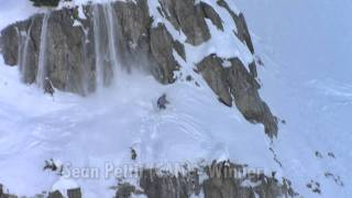 Insane skiing in the backcountry - Red Bull Linecatcher 2011 - France