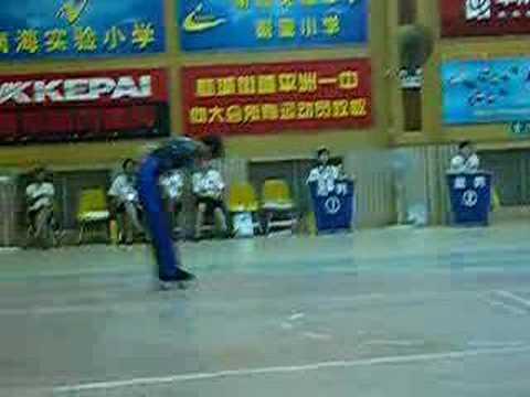 Chinese artistic national championship (shanghai skater)