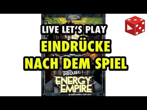 Manhattan Project: Energy Empire - Eindrücke / Erstes Fazit - Live Let's Play Mitschnitt
