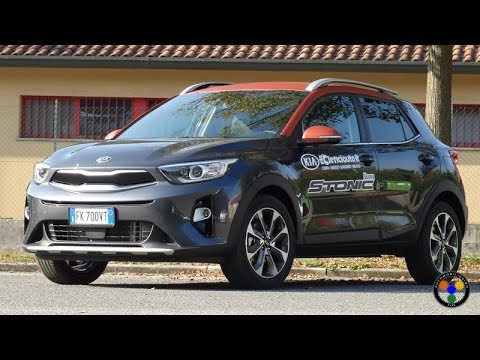 Kia Stonic 1.6 CRDi 110 cv Test Drive