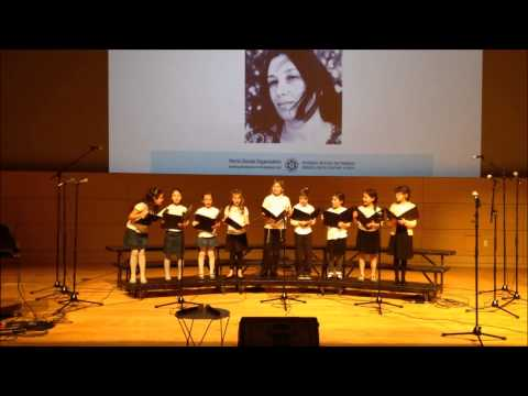 Beit Rabban Day School Hebrew Choir 2015 Performance at Hagiga Ivrit