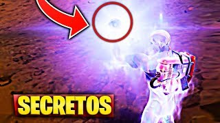 ALL CHANGES IN THE MAP AND GRAVITY CRYSTAL IN FORTNITE NEW SECRETS