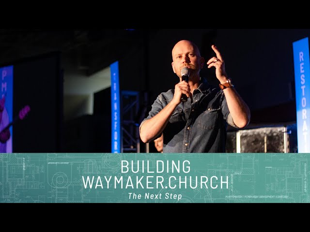 Building Waymaker.Church: The Next Step: Obedience in a God-sized Vision | Pastor Jon Dupin