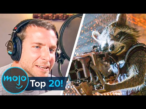 Top 20 Best Celebrity Voice Actor Performances Ever