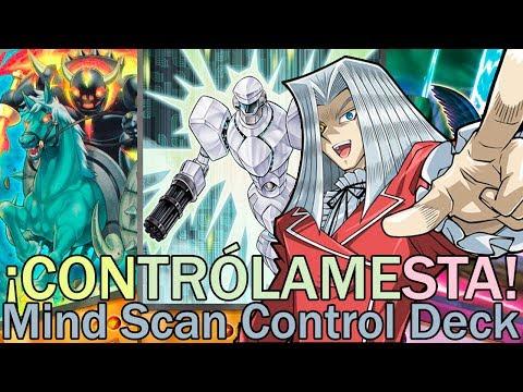 ¡CONTRÓLAMESTA! Mind Scan Control Deck | Yu-Gi-Oh! Duel Links