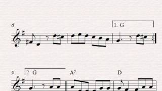 Free easy violin sheet music, Mexican Hat Dance