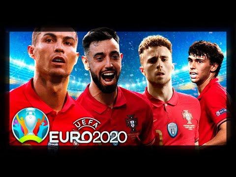 TORNEIO EURO 2020 COM PORTUGAL   PES 2021