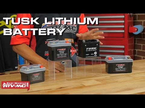 Tusk Lithium Battery | Rocky Mountain ATV/MC