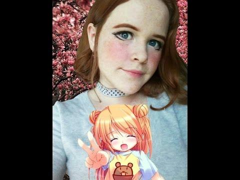 Как сделать макияж в стиле аниме (*^ω^*) \ Rini