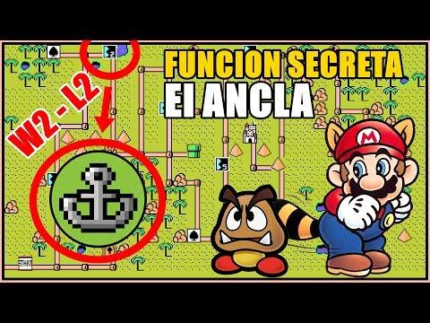 Sabias de esta Función Desconocida de Super Mario 3? El Ancla