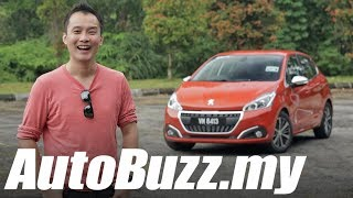 Peugeot 208 Puretech 1.2 turbo review - AutoBuzz.my