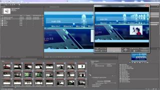 Adobe Encore - Authoring a DVD Part 2 - Adding and editing menus