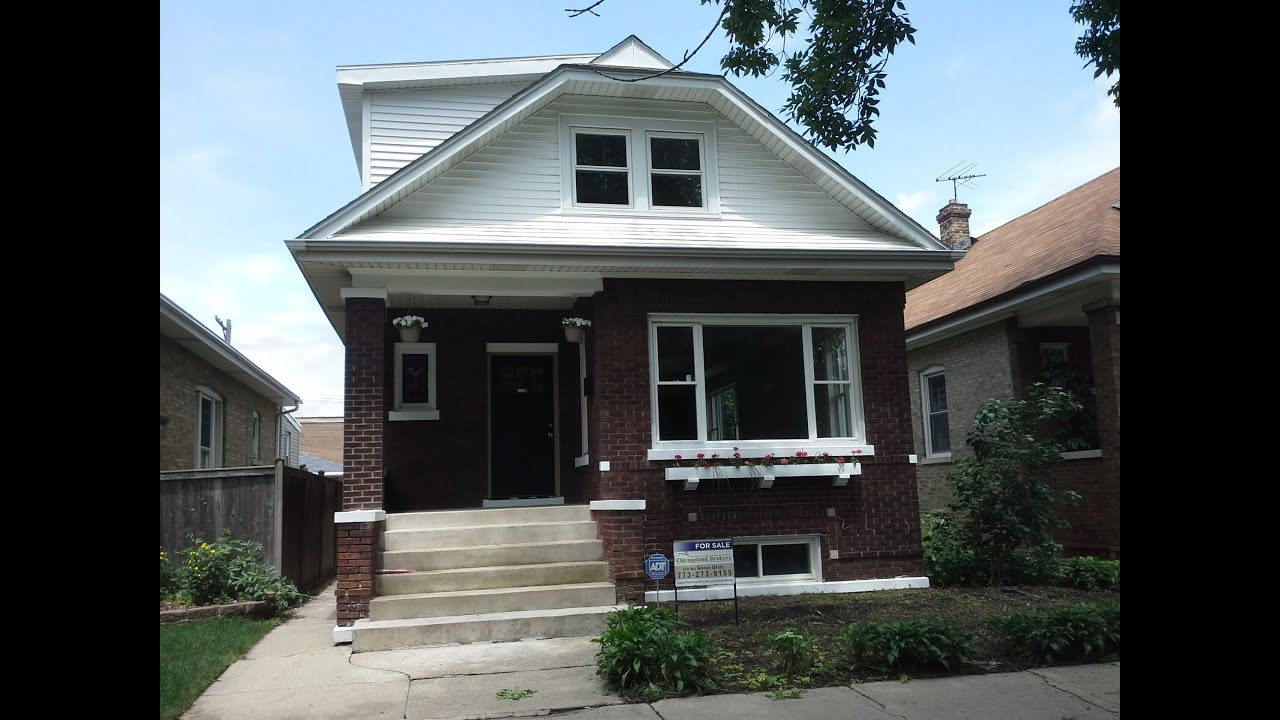 Chicago Bungalow Gut Rehab in Portage Park - YouTube