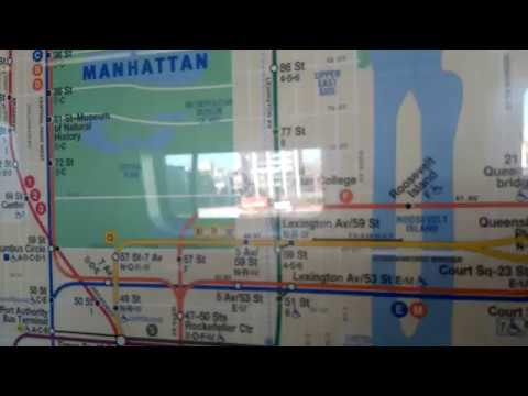 Astoria Subway Map.Mta November 2016 Subway Map Featuring The W On An Astoria Bound