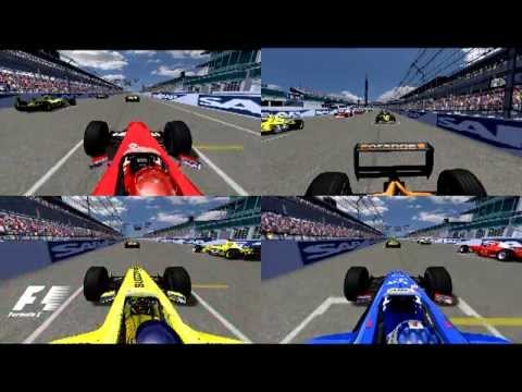 rFCE | F1 2000 | R15: Ciomo97ita, Emirates, Bappo and A.Argese - Onboard Start Mix