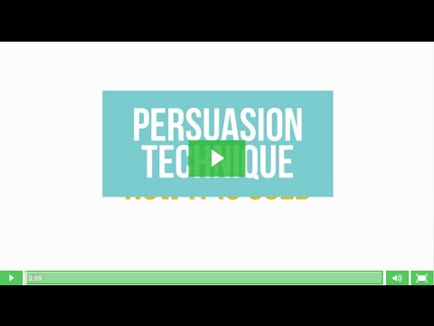 2. Persuasion, not manipulation: influence others in a positive way