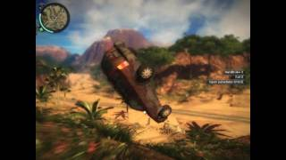 Just Cause 2 Demo PC Gameplay HD (8500GT)