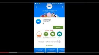 How to make a free audio or Video Call by Facebook Messenger.