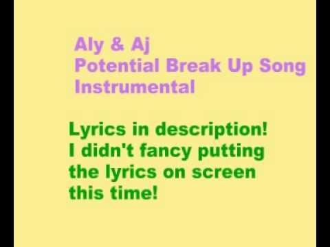 Aly & AJ - Potential Breakup Song lyrics - Lyricscout
