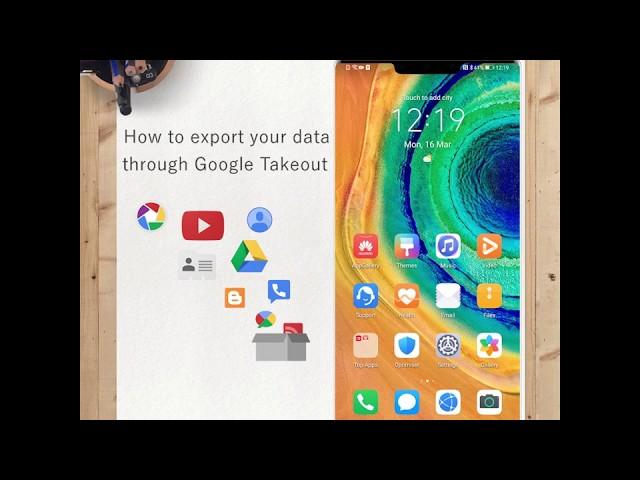 Ontdek Google TakeOut