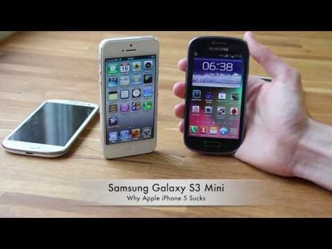 why does iphone suck samsung galaxy s3 mini why apple iphone 5 how to 7279