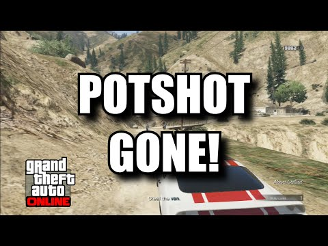 GTA Online - Potshot, Coveted and Crystal Clear Out III Gone! - After patch 1.17 (GTA 5 Multiplayer)