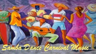 Samba dance carnival music of Brazil Bossa Nova , Samba music and Salsa Music