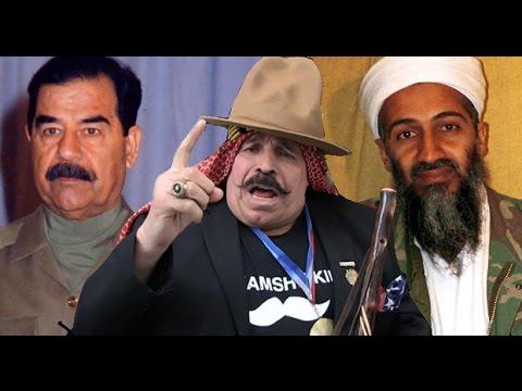 Iron Sheik shoots on Saddam Hussein & Osama bin Laden