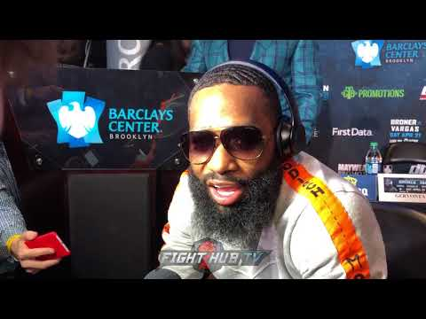 "ADRIEN BRONER ON WHY HE BLEW UP AT PRESSER! ""IM STILL ONE OF THE BADDEST MOTHERF**** TO DO IT!"""