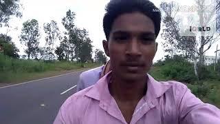 Bike riding by Prakash Chandra Meena,  good news 2 the world,  good news church of India. Hanshaben.