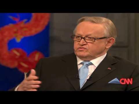 Ahtisaari's 'friendly' talks