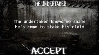 ACCEPT - THE UNDERTAKER (LYRIC VIDEO)