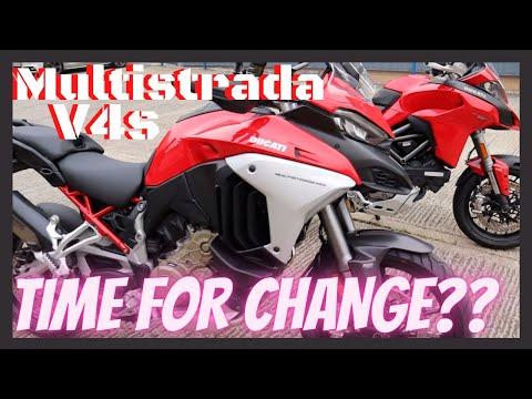 New Ducati Multistrada V4s vs 1260s ..Time For A Change??