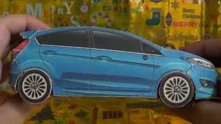 Papercraft Ford Fiesta Sport Hatchback Finish