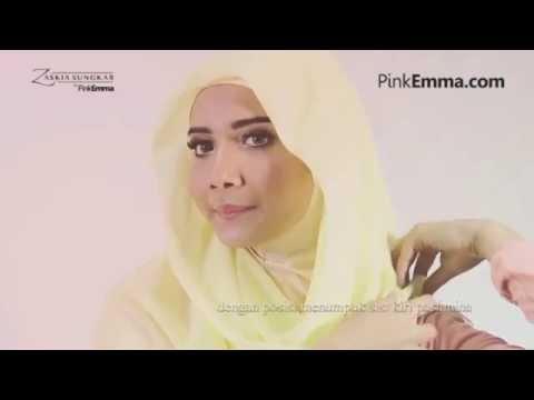 Tutorial Hijab Pashmina Anggun Dengan Gaya Minimalis  Zaskia Sungkar